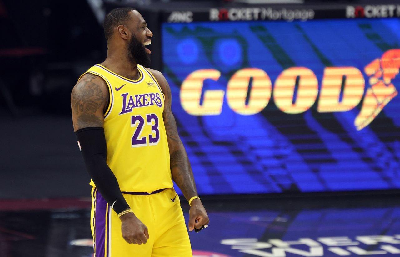 LeBron James back in Cleveland