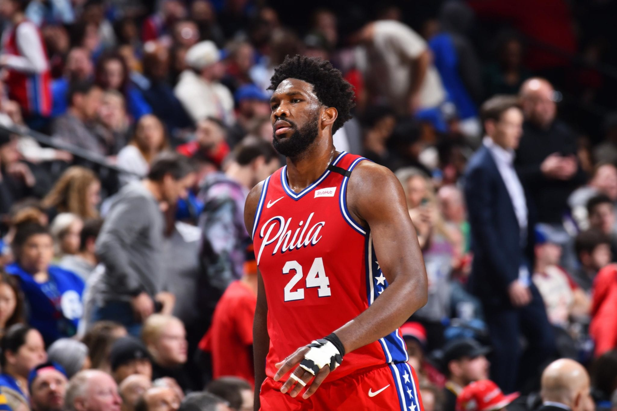 Joel Embiid Says LeBron Should Have Been Ejected for Flagrant Foul