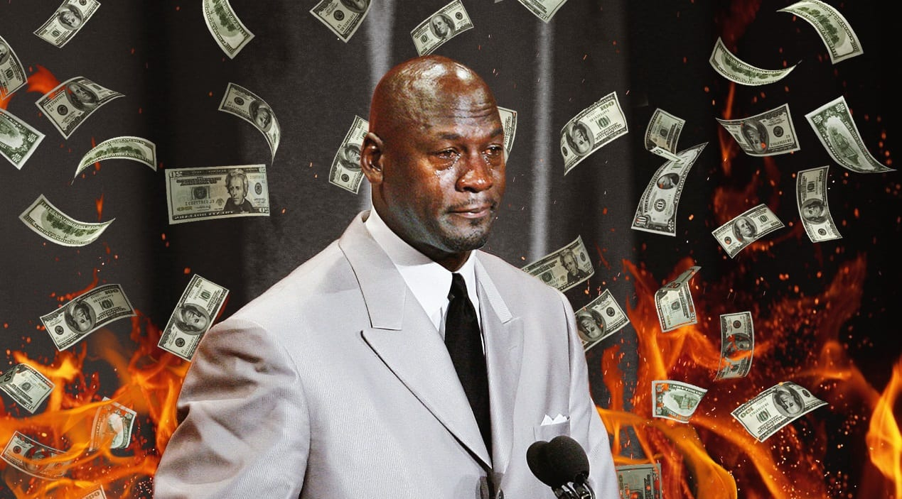 Michael Jordan Caught in Middle of GameStop Trading War