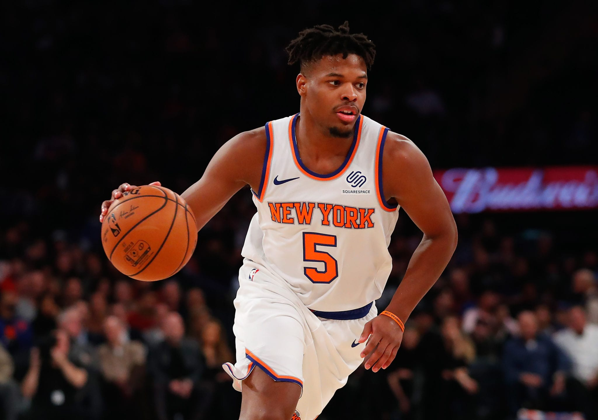 Knicks' Dennis Smith Jr. Reportedly Asks to Be Sent to G League Bubble
