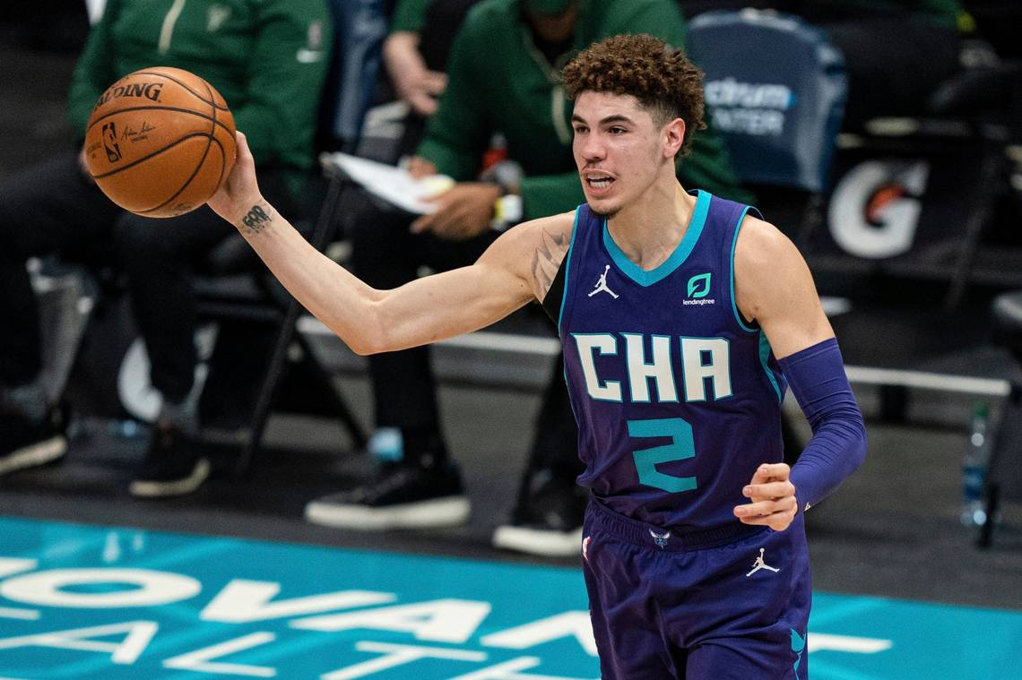 LaMelo Ball Has Career-High Night in Hornets' Win