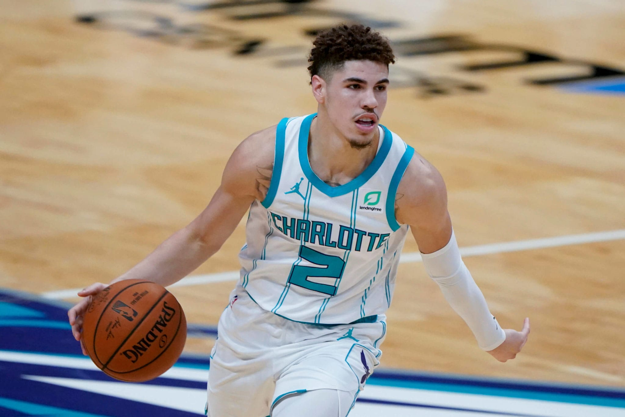Charlotte Hornets' LaMelo Ball Gets His First Start of the Season