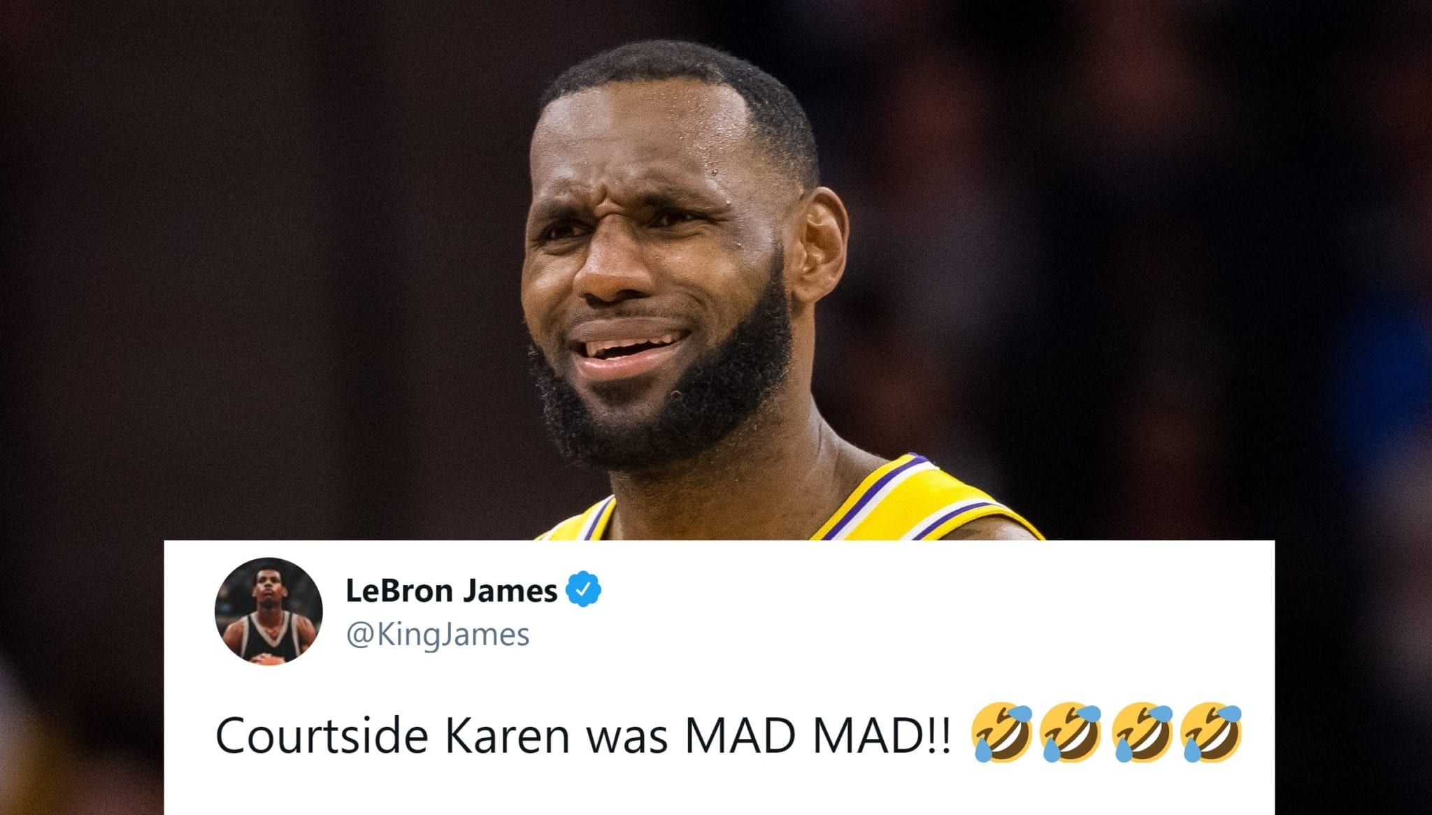 LeBron James Gets Into Verbal Altercation With 'Courtside Karen'