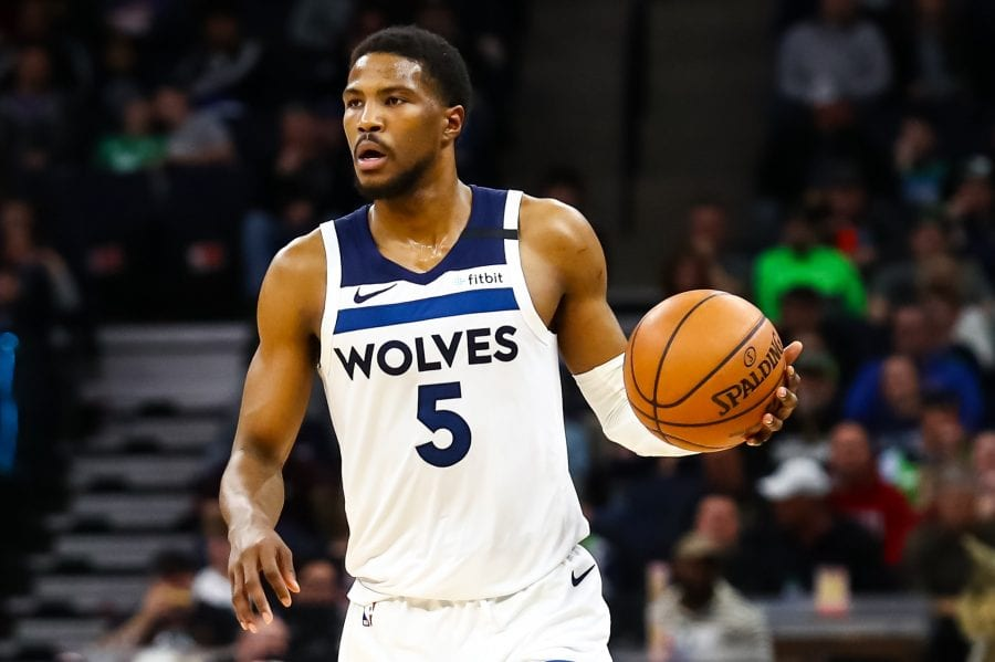Malik Beasley of the Wolves