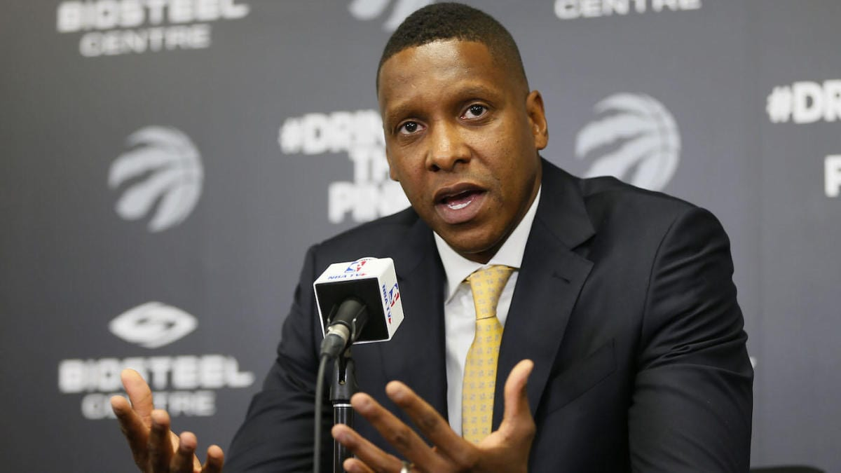 Sheriff's Deputy Drops Lawsuit Against Raptors' President Masai Ujiri