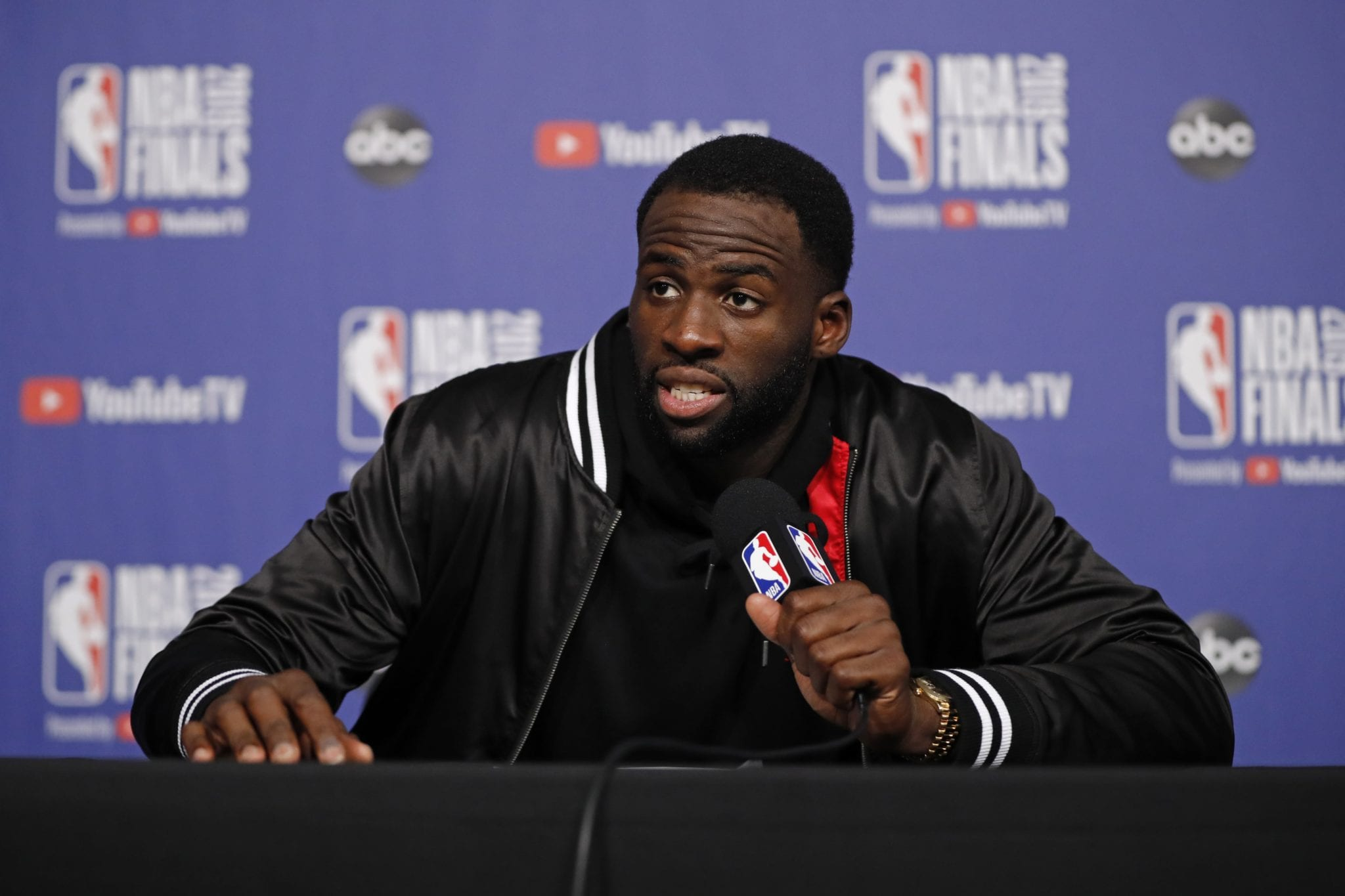 Draymond Green Blasts 'Treatment of Players' in the NBA