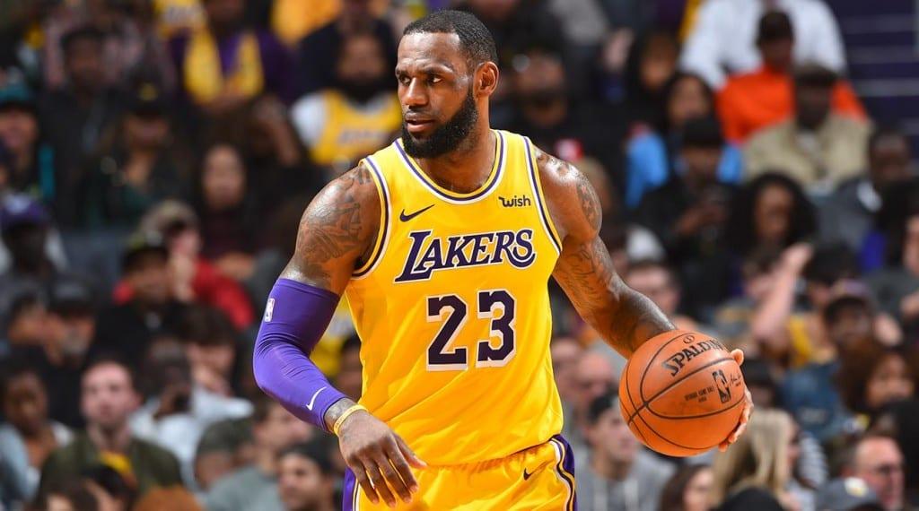 Lakers star LeBron James