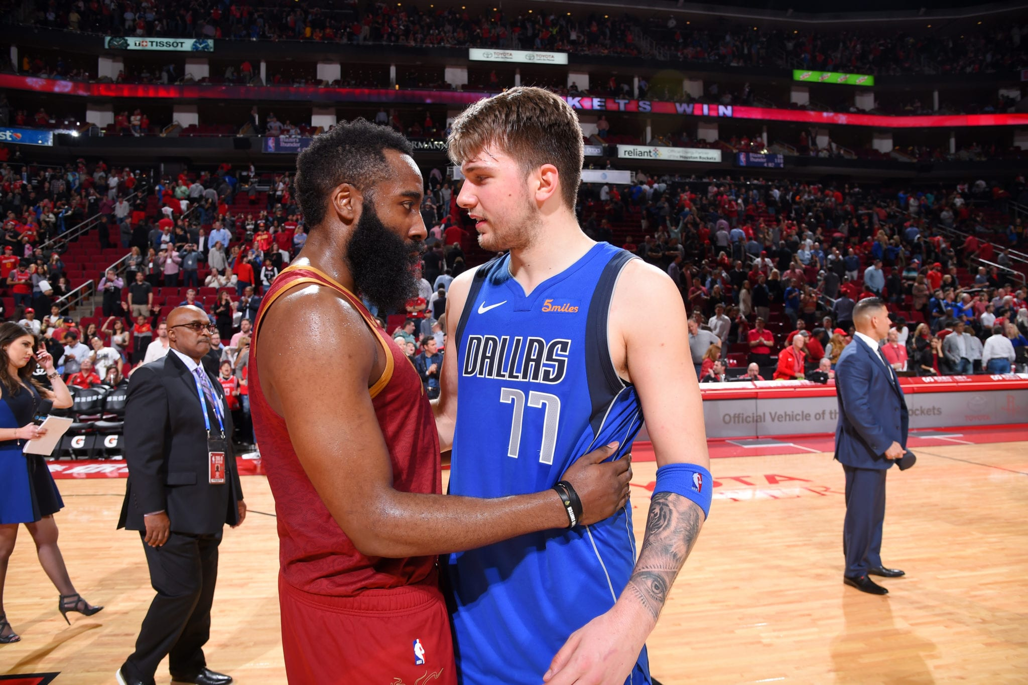 James Harden on Luka Doncic: 'Mavs Got a Special One'