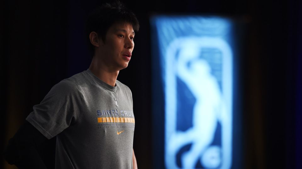 Jeremy Lin of the G-League Warriors