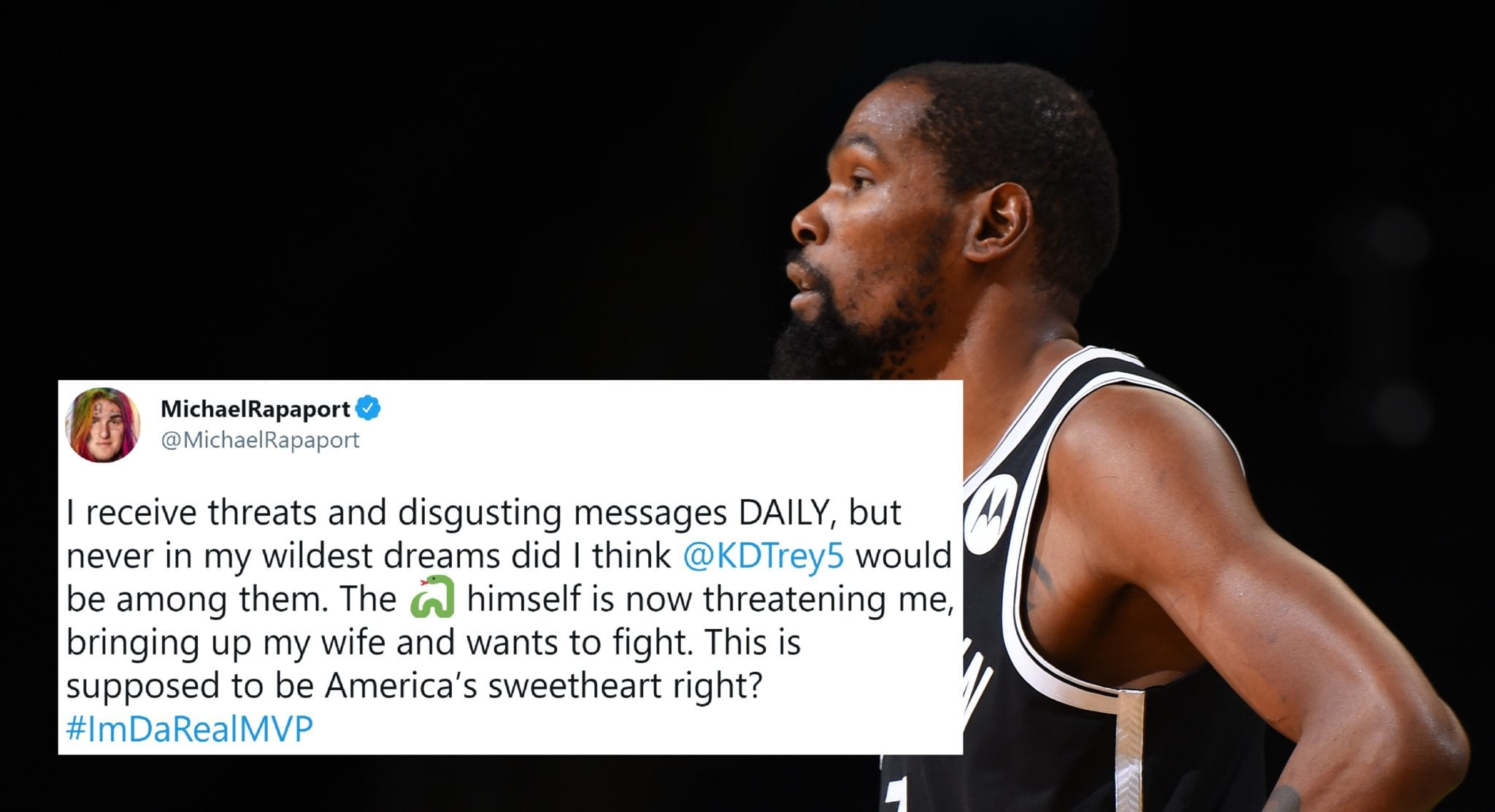 Actor Shares Kevin Durant's Homophobic, Misogynistic DMs