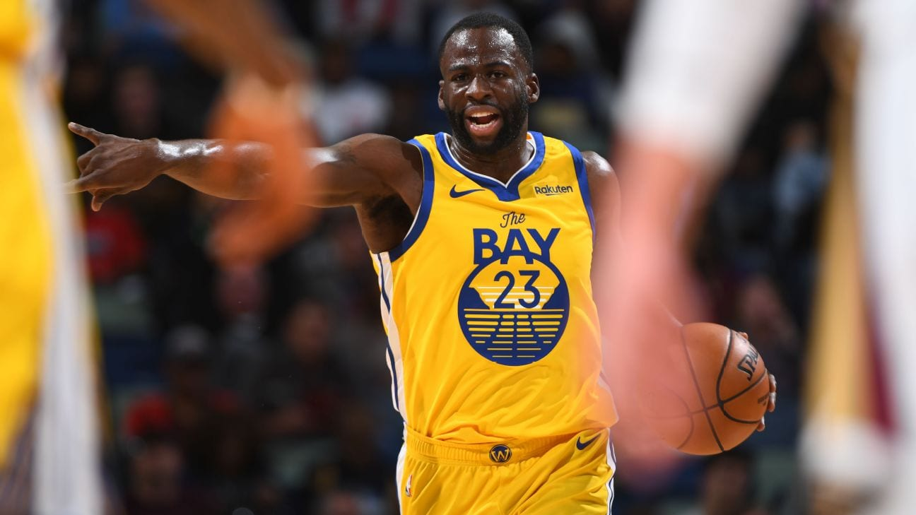 Draymond Green Says Fighting For Play-In Spot 'Doesn't Motivate Me'