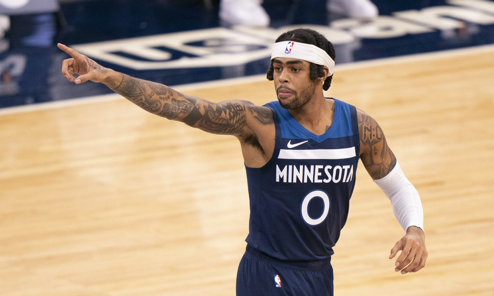 D'Angelo Russell Set to Return to Timberwolves' Lineup Monday Night