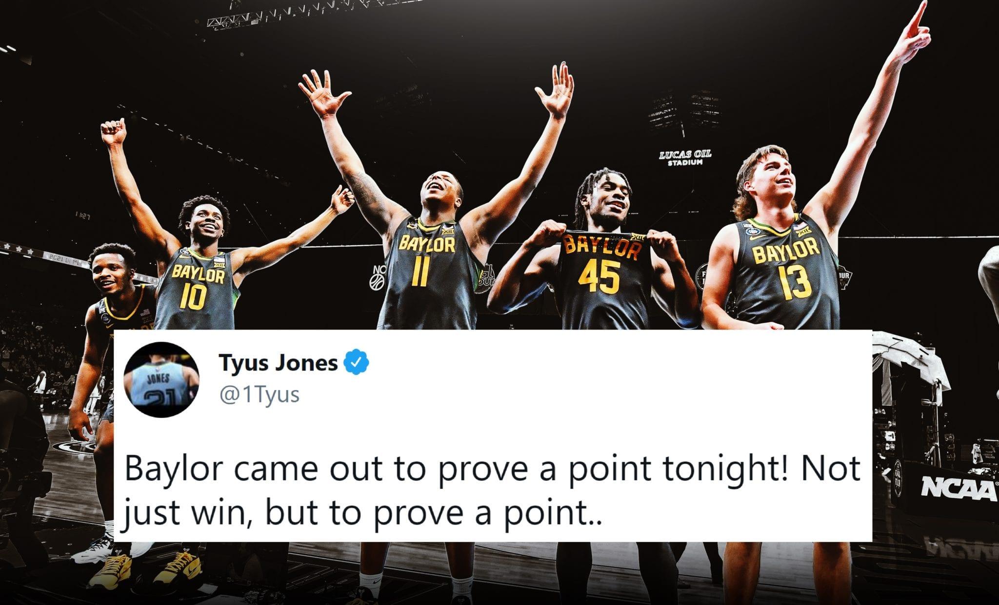 NBA Players React to Baylor's Incredible National Championship Win