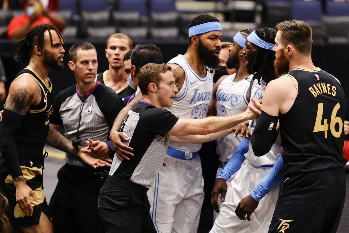 NBA Suspends Three Players Involved in Lakers-Raptors Altercation