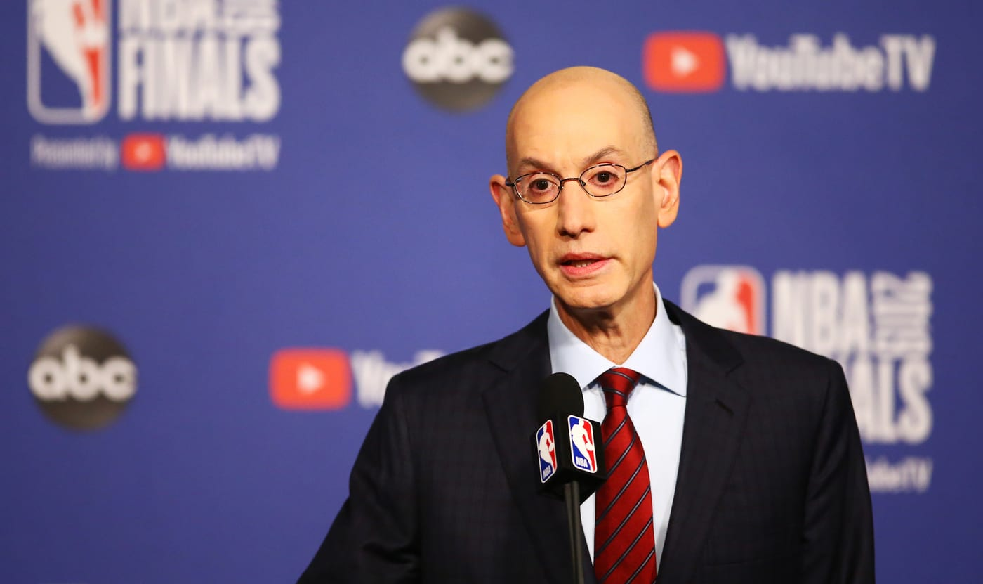 Adam Silver on China Allegations of Forced Labor