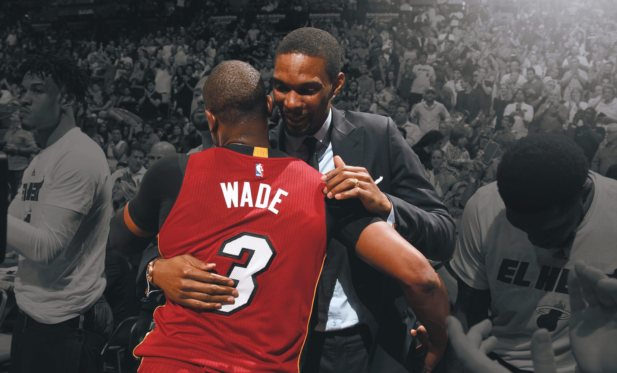 Dwyane Wade Describes How Terrifying Chris Bosh's Blood Clot Was Behind The Scenes