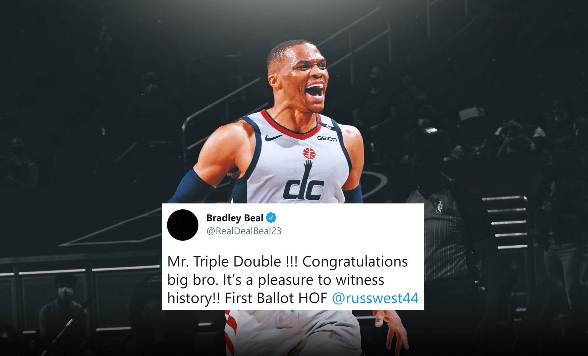 NBA Stars React to Russell Westbrook Breaking Triple-Double Record