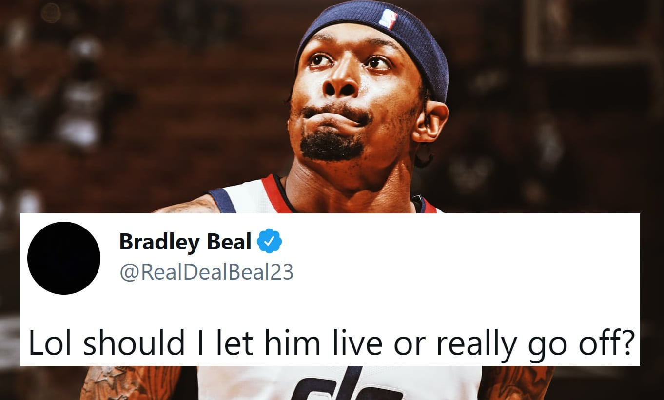Bradley Beal Is Beefing Hard With Kent Bazemore