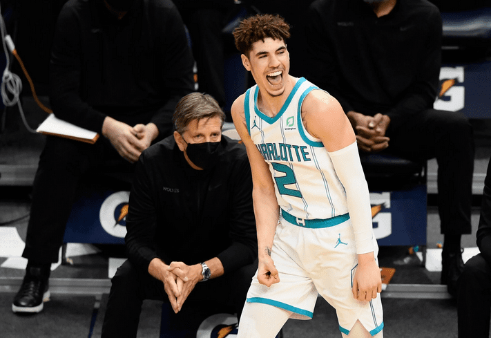 LaMelo Ball Moves Into the Kia Rookie Ladder No. 1 spot