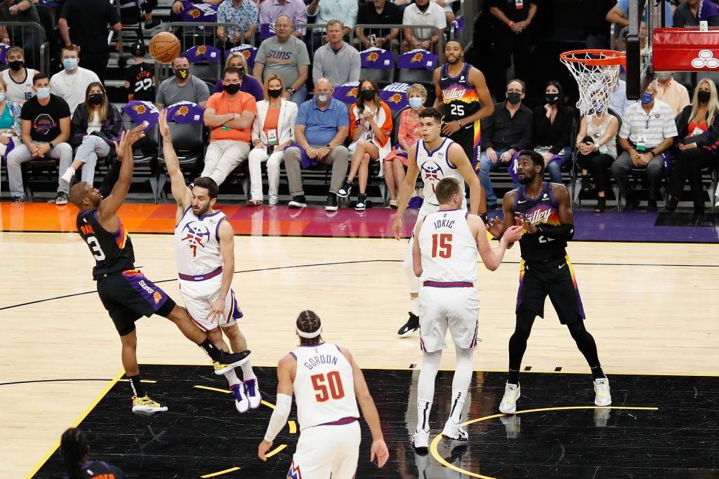 Phoenix Suns Take A Commanding 3-0 Lead On Jokic's MVP Trophy Night