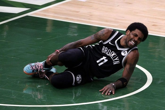 Kyrie Irving Injured in Nets' Game 4 Loss To Milwaukee Bucks