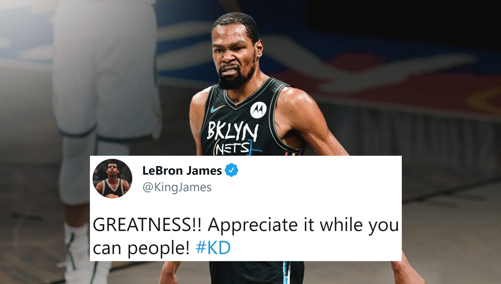 NBA Players React to Kevin Durant's 49-Point Triple-Double