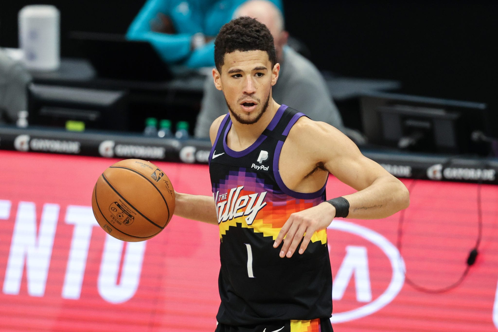 Devin Booker Gets First Triple-Double In Suns' Game 1 Win