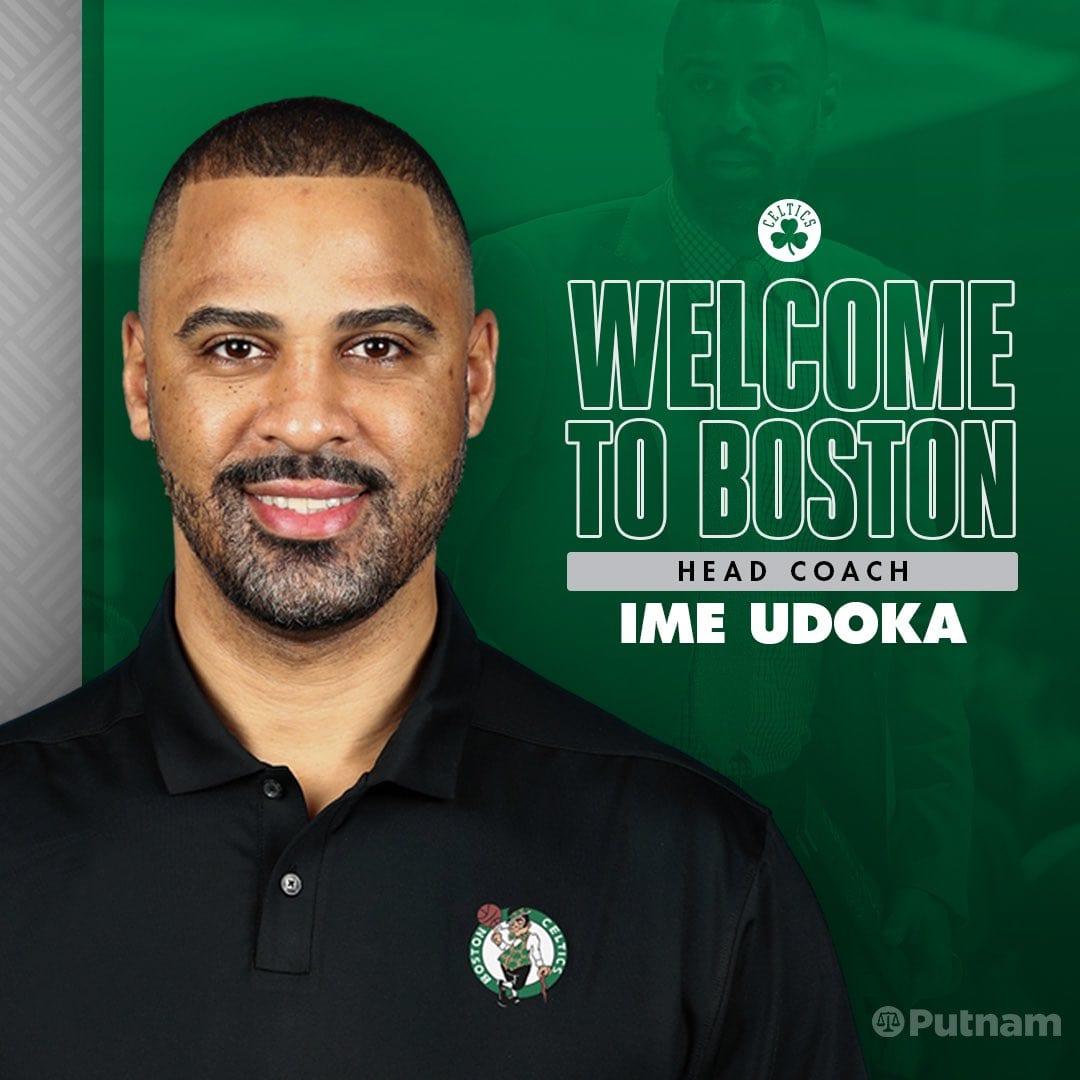 Ime Udoka Introduced as Celtics' Head Coach, Says Job Is 'Winning a Championship'.