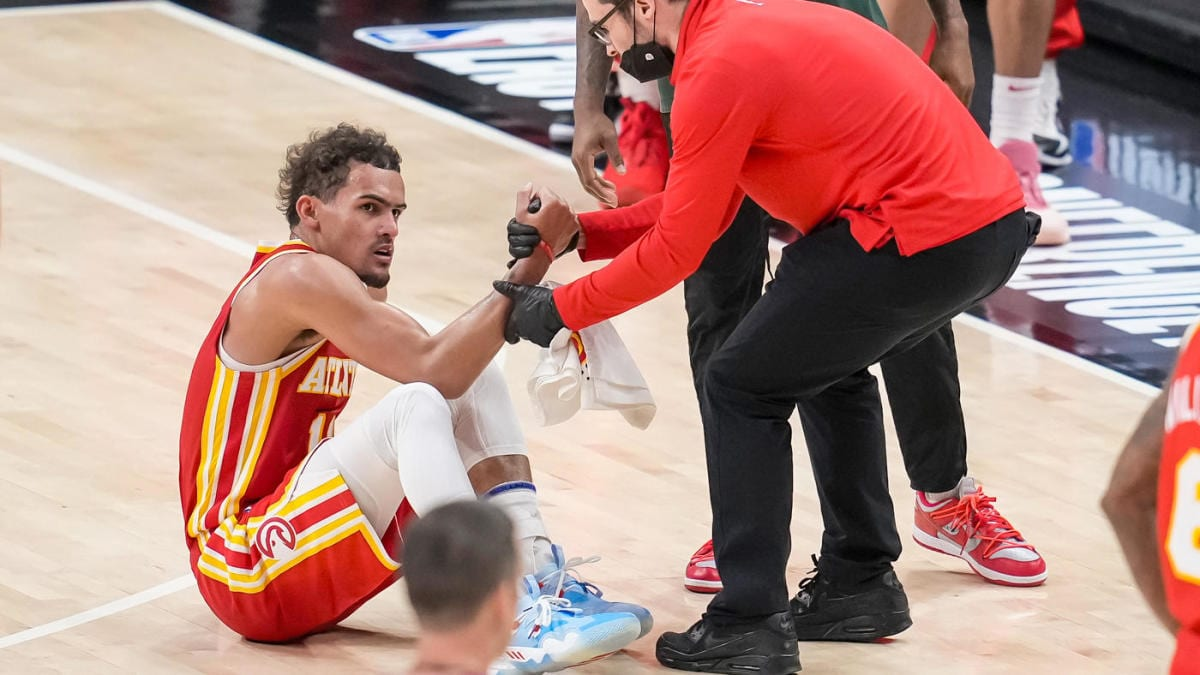 Trae Young Questionable for Game 4; MRI Reveals Bone Bruise in Foot