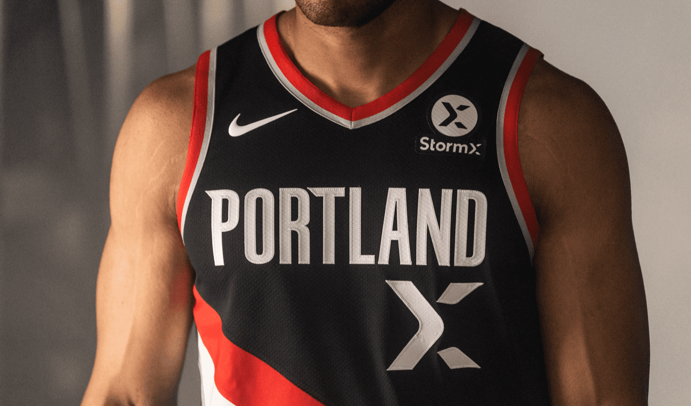Trail Blazers Announce Cryptocurrency Jersey Patch Partnership With StormX