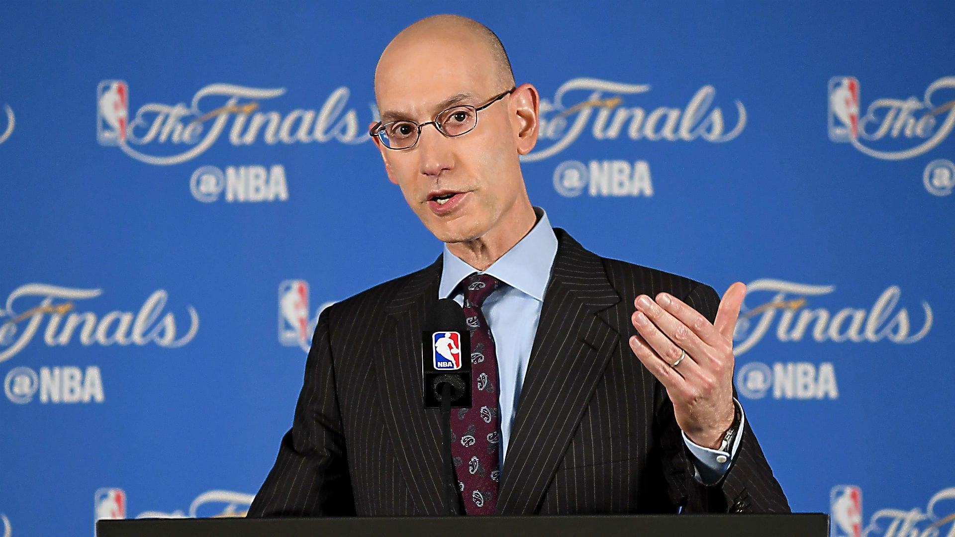 Adam Silver NBA Finals
