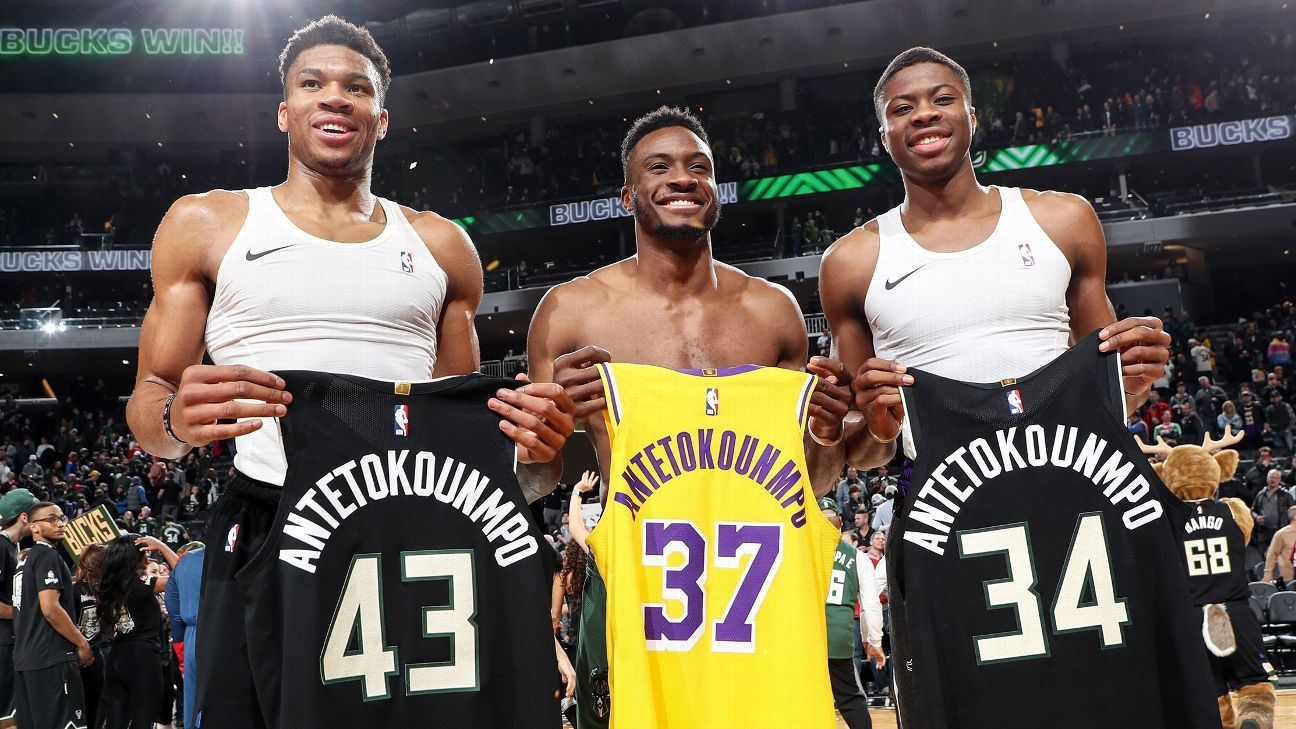 Antetokounmpo Brothers Make History as First Sibling Trio to Become NBA Champs