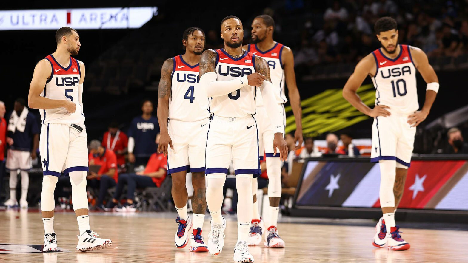 Team USA Falls to France in Tokyo Debut