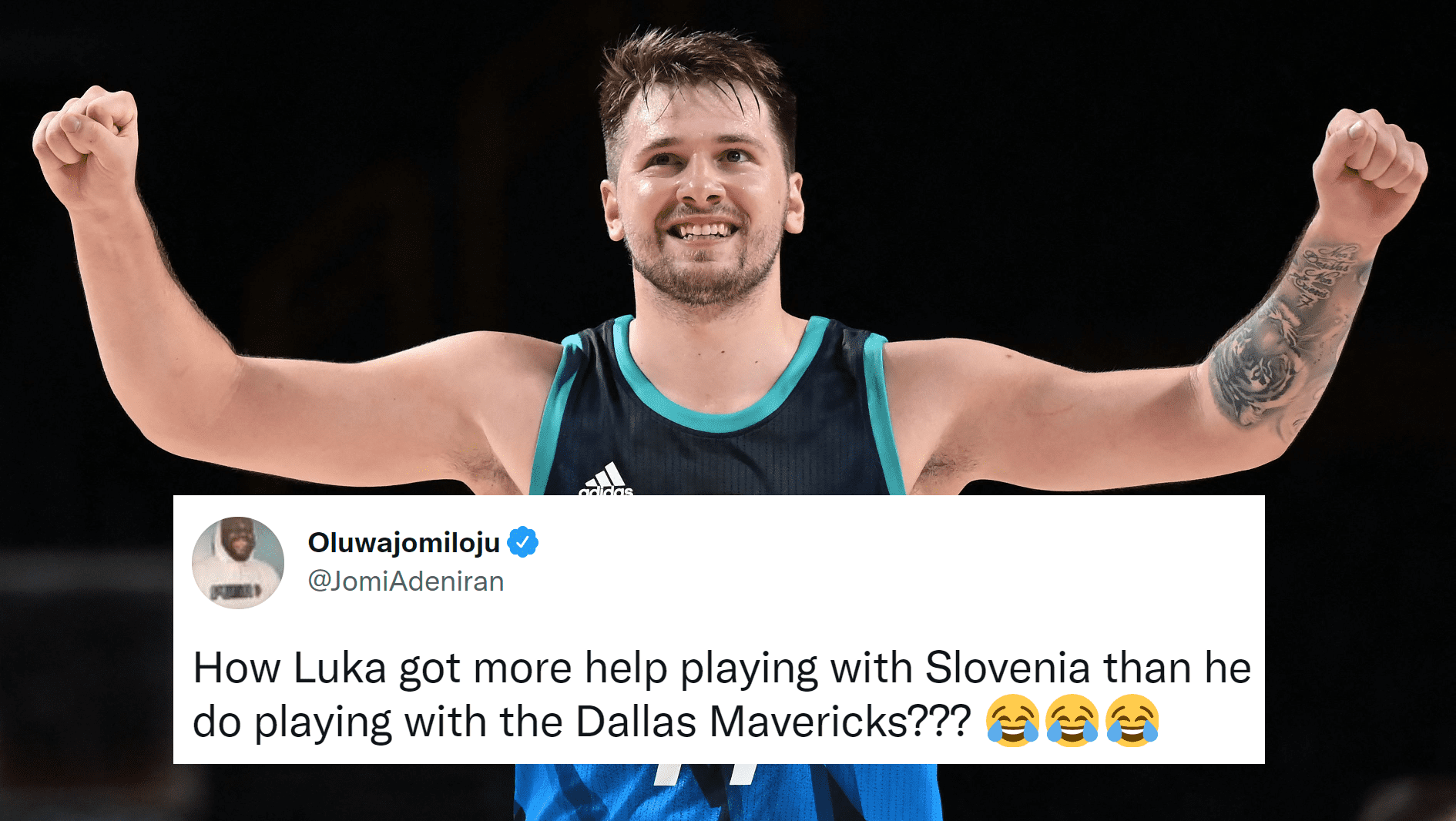 Everyone Is Reacting In Disbelief To Luka Doncic's 48-Point Olympic Debut