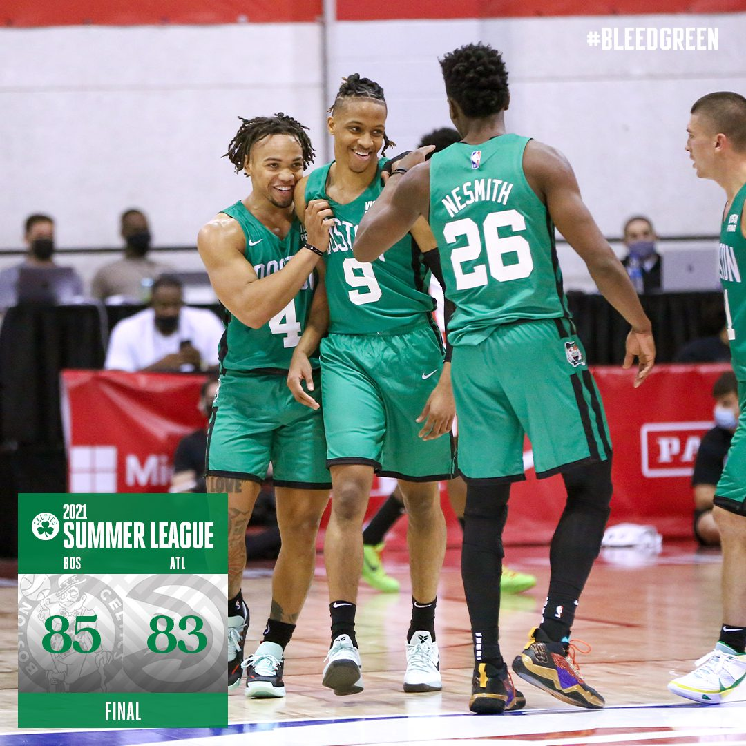 Celtics Beat Hawks in Summer League Opener