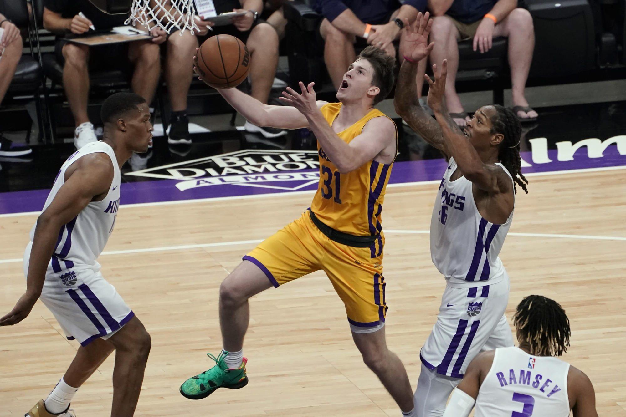 The Las Vegas Summer League is enforcing the new shot motion rule