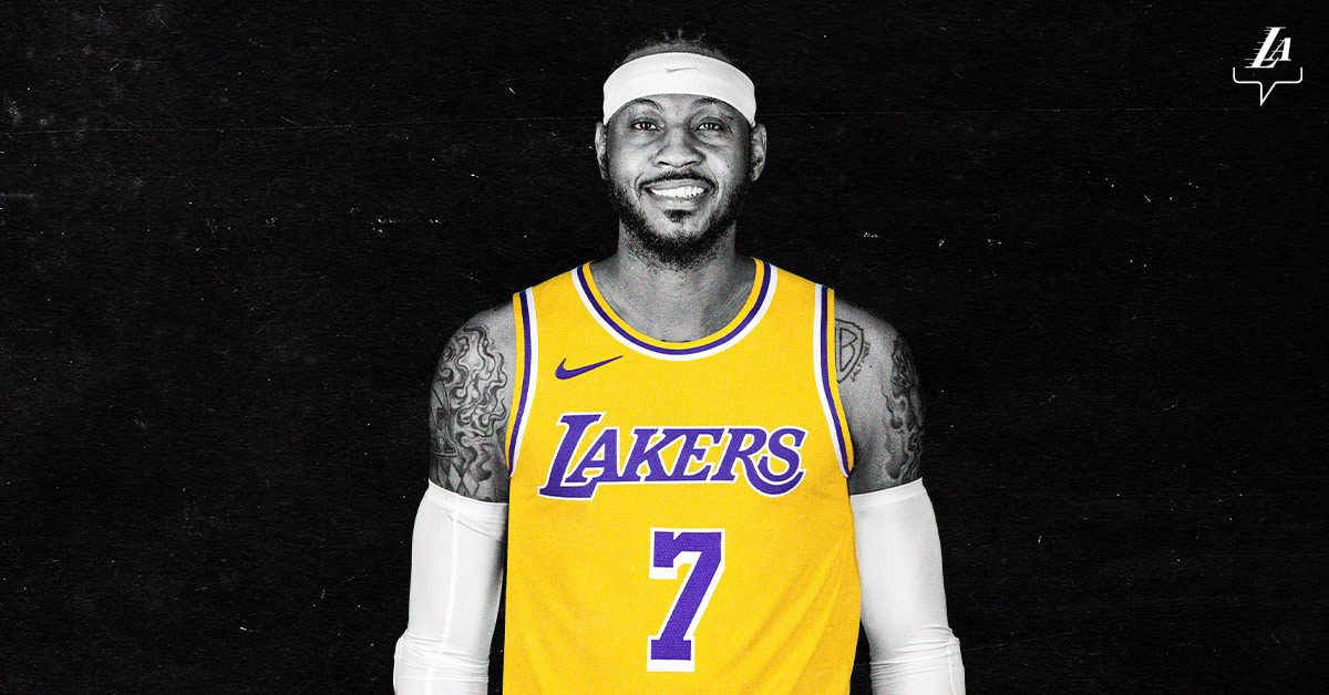 Carmelo Anthony signed his new deal on Monday