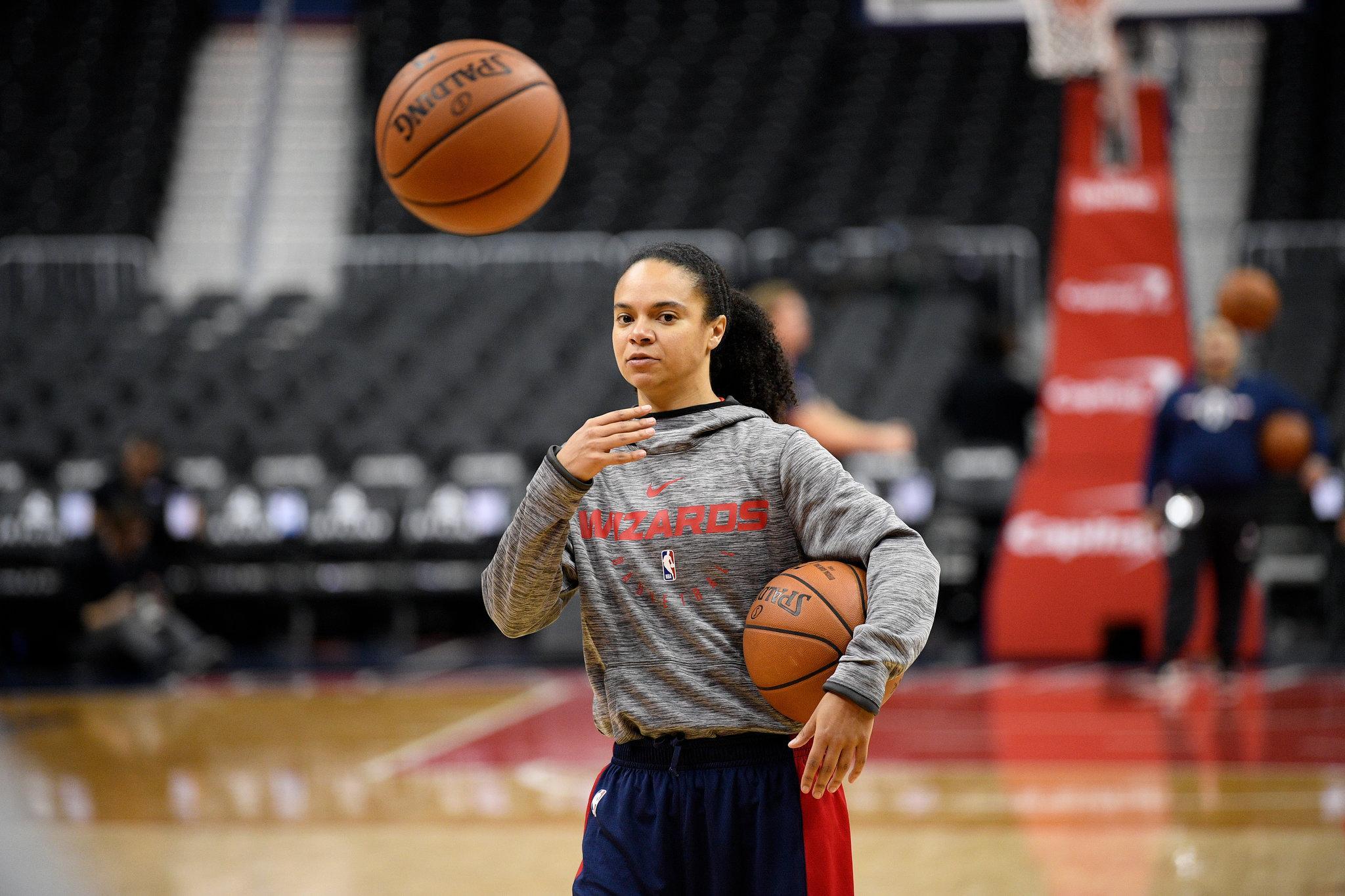 Kristi Toliver of WNBA's LA Sparks Joining Mavericks As Assistant Coach