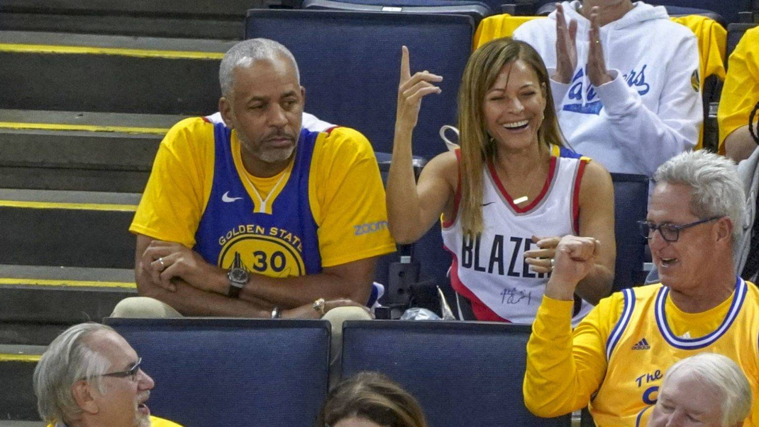 Dell and Sonya Curry, parents of Stephen Curry and Seth Curry