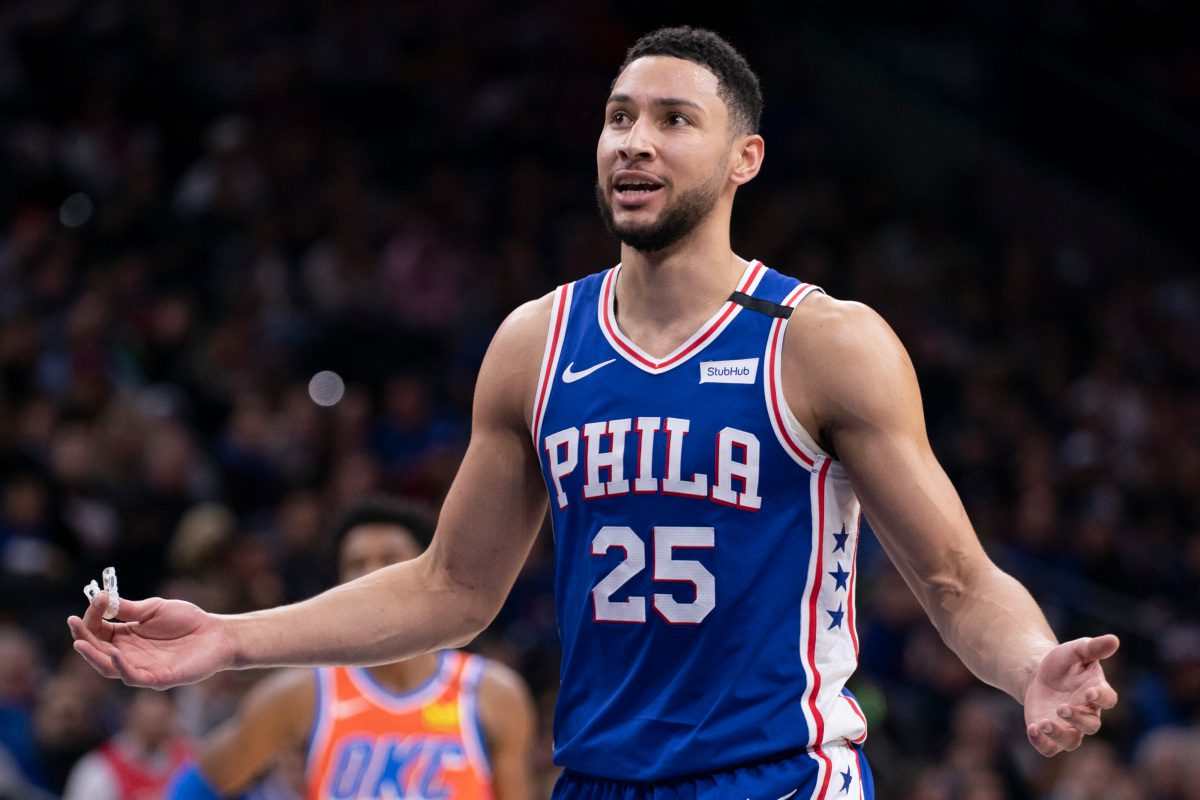 Ben Simmons of the Sixers