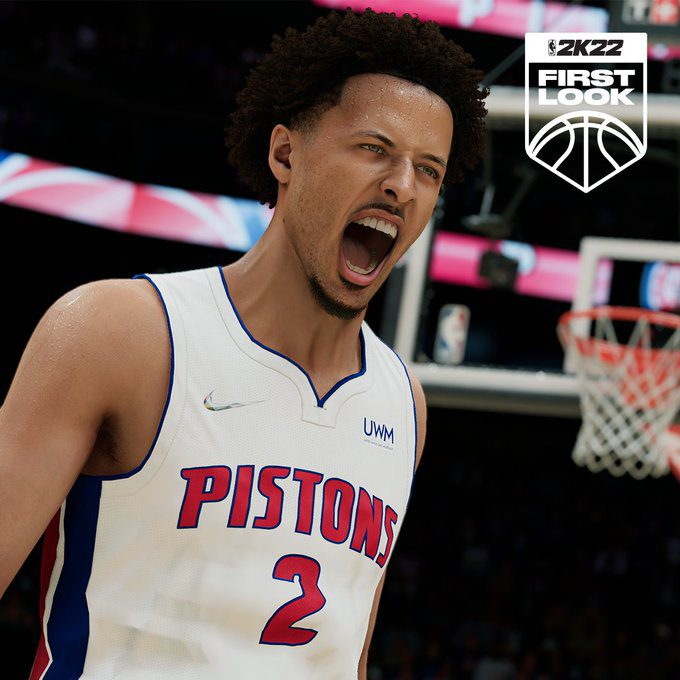 Pistons' Rookie Cade Cunningham Receives New 2K Face Scan After Backlash