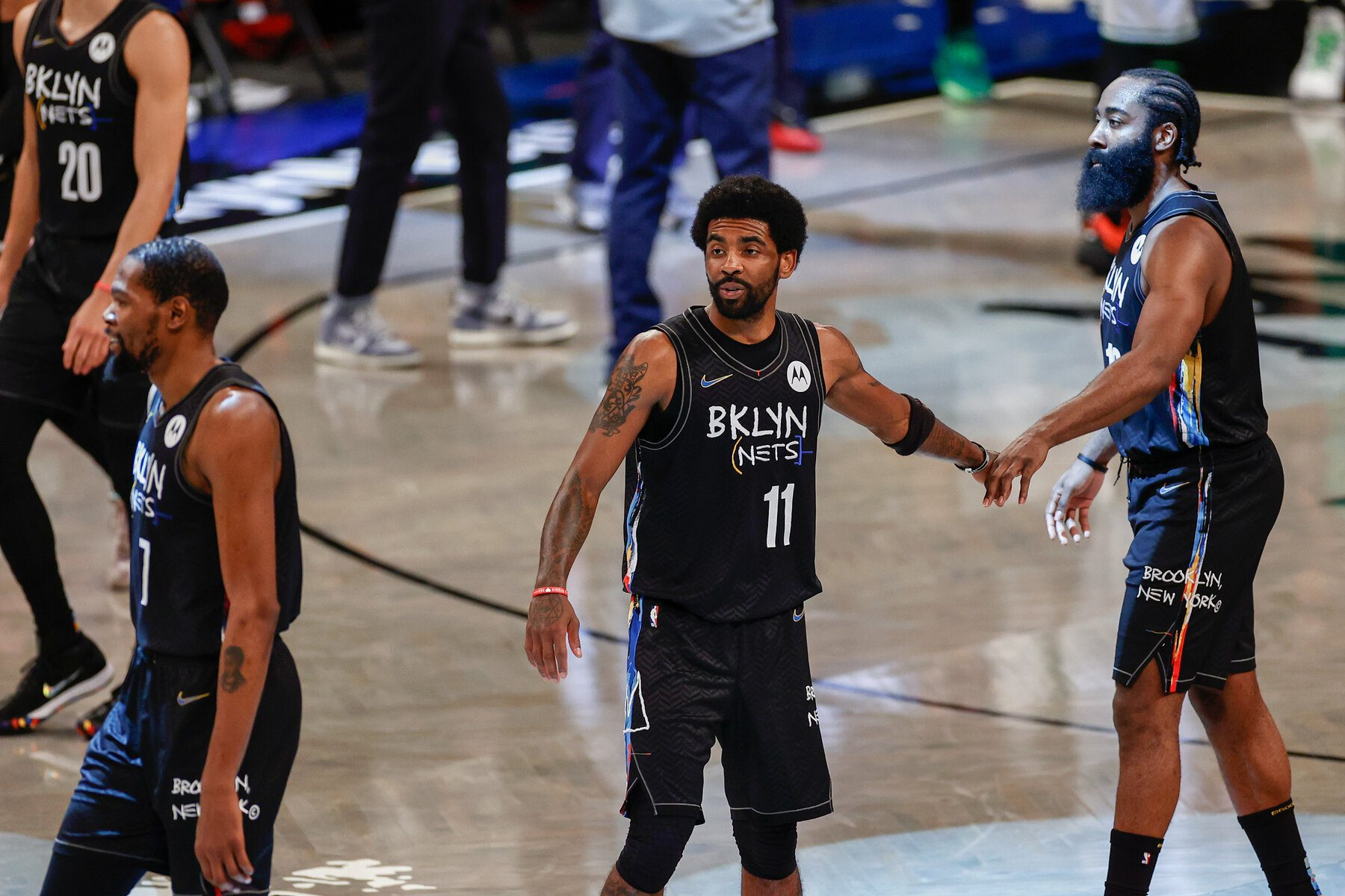 Nets Say No Vaccine, No Practice or Play for Kyrie Irving