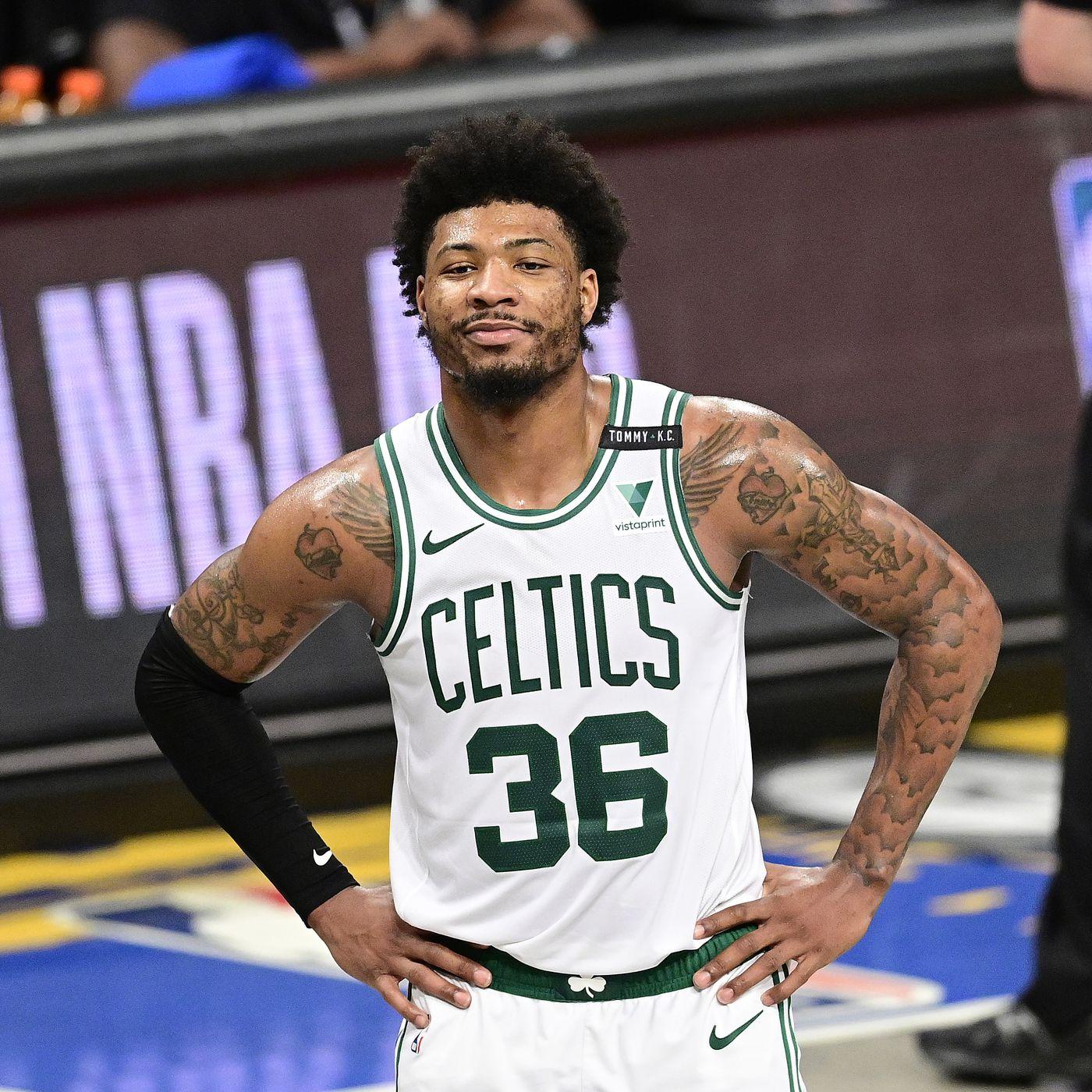 Celtics Suspend Marcus Smart for 'Breaching Team Rule,' Per Report